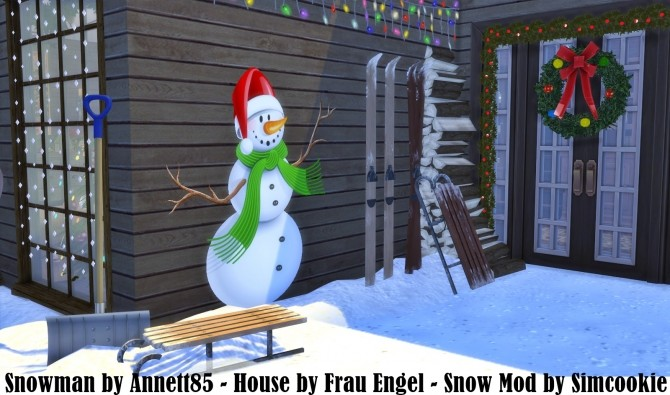Wall Deco Snowman at Annett's Sims 4 Welt image 19110 670x395 Sims 4 Updates