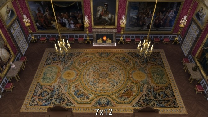 Versailles Baroque Rug by TheJim07 at Mod The Sims image 19211 670x377 Sims 4 Updates