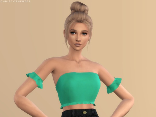 Gloom Top by Christopher067 at TSR image 1939 Sims 4 Updates