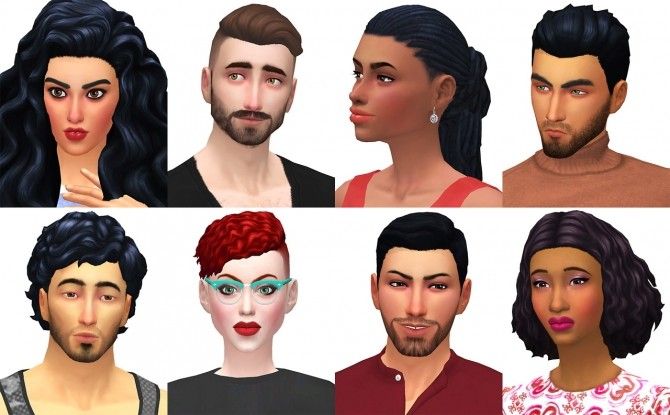 The Roomies at The Sims 4 Middle Easterners & South Asians image 1973 670x415 Sims 4 Updates
