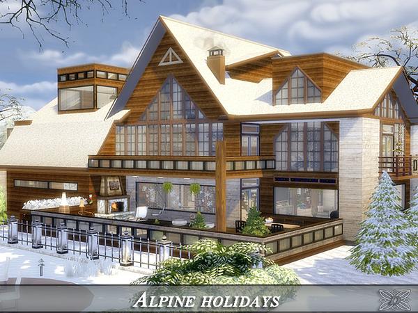 Sims 4 Alpine holidays by Danuta720 at TSR