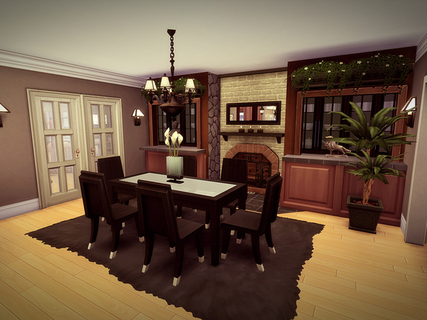 Holidcot house by melcastro91 at TSR image 2037 Sims 4 Updates