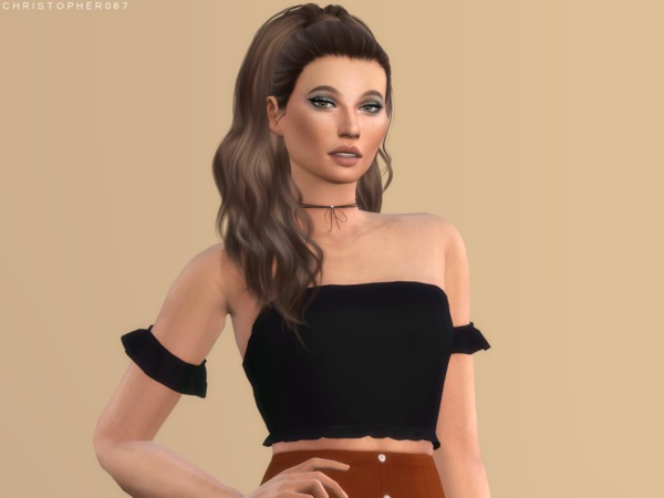 Gloom Top by Christopher067 at TSR image 2039 Sims 4 Updates