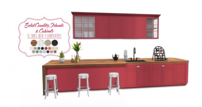 Shaker Kitchen by Peacemaker ic at Simsational Designs image 2041 670x355 Sims 4 Updates