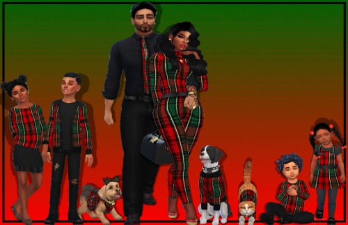 CHRISTMAS IS LIT family set (P) at NEW Luxurious Sims 4 image 21012 Sims 4 Updates