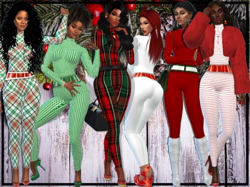 CHRISTMAS IS LIT family set (P) at NEW Luxurious Sims 4 image 21210 Sims 4 Updates