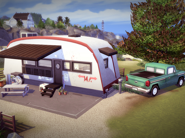 Sims 4 Campercat house by melcastro91 at TSR