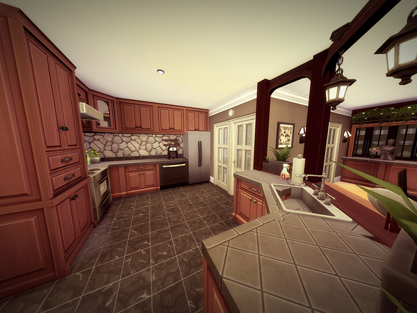 Holidcot house by melcastro91 at TSR image 2138 Sims 4 Updates