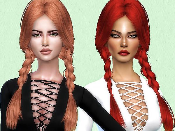 K129 hair retexture by Sharareh at TSR image 2147 Sims 4 Updates