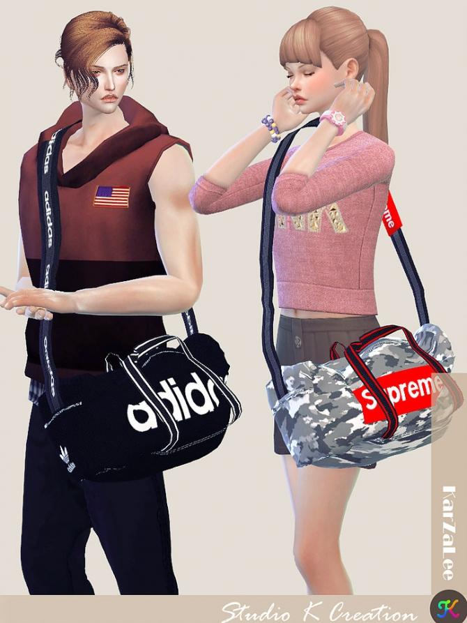 Sports Bag At Studio K Creation 187 Sims 4 Updates