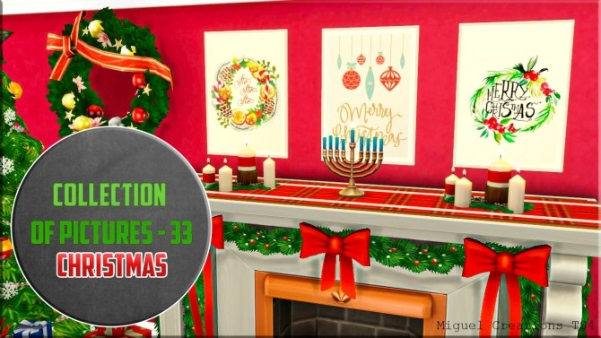 Sims 4 Collection of Pictures 33 (Christmas) at Victor Miguel