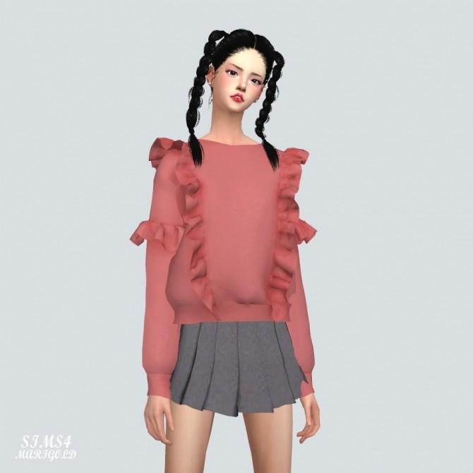 Frill Sweatshirt at Marigold image 2231 670x670 Sims 4 Updates