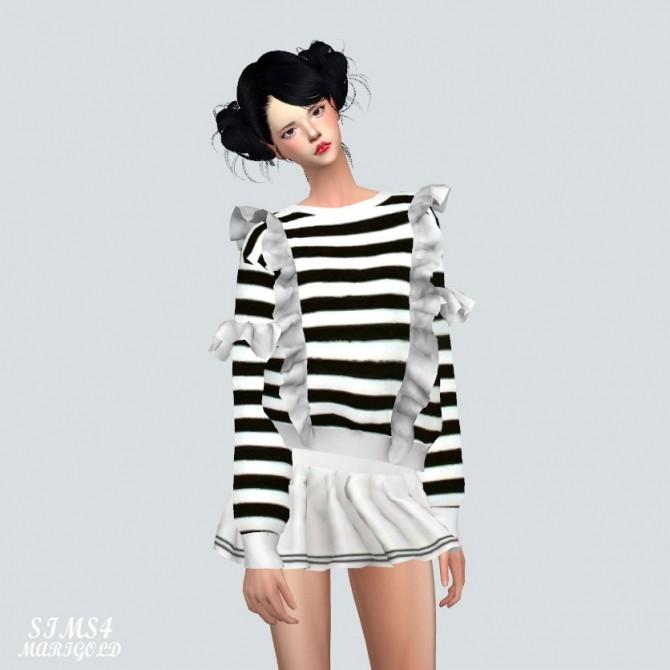Frill Sweatshirt at Marigold image 2241 670x670 Sims 4 Updates