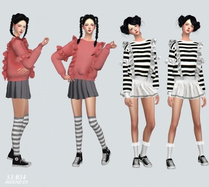 Frill Sweatshirt at Marigold image 2271 670x598 Sims 4 Updates