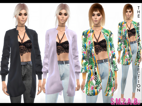 Sims 4 347 Outfit with Coat by sims2fanbg at TSR