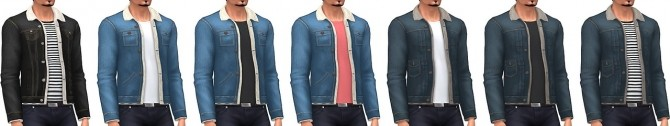 Men's Shearling Jackets at Marvin Sims image 2401 670x126 Sims 4 Updates