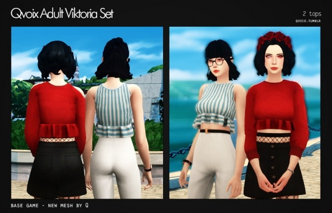 Sims 4 Viktoria Set at qvoix – escaping reality