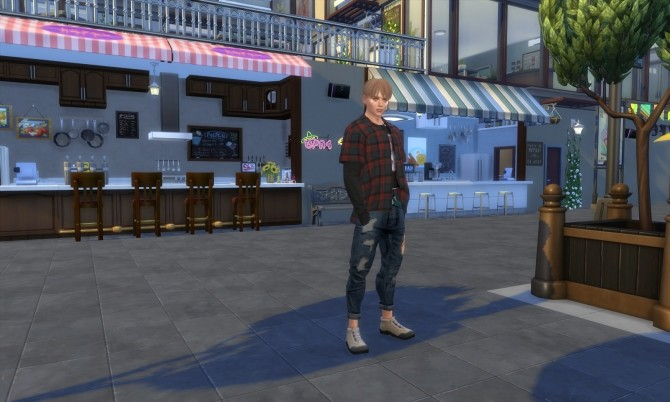 Damon Justice at Sims for you image 2434 670x402 Sims 4 Updates