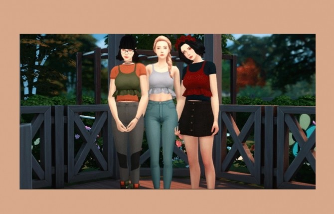 Sims 4 Xia Set at qvoix – escaping reality