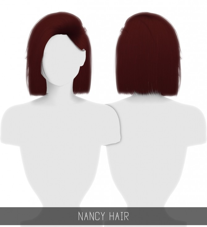 NANCY HAIR at Simpliciaty image 2471 670x736 Sims 4 Updates