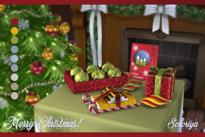 Merry Christmas 2017 set at Soloriya image 2491 670x450 Sims 4 Updates