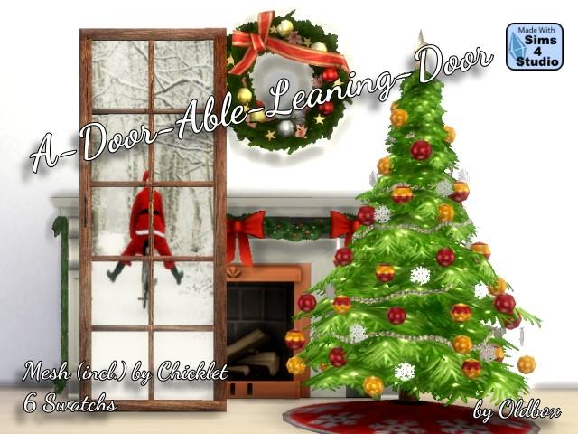 Sims 4 Christmas set at All 4 Sims