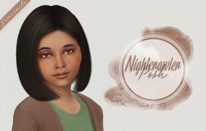 Nightcrawler Posh Hair Kids Version at Simiracle image 2591 670x427 Sims 4 Updates