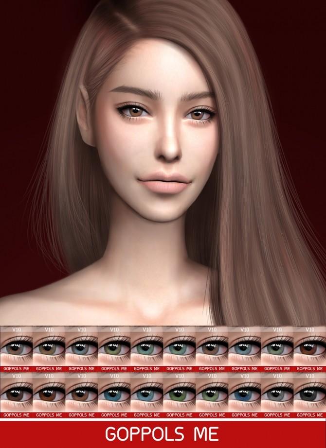 Sims 4 GPME Eyes V10 at GOPPOLS Me