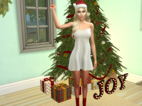 Sims 4 Elena Andrea by divaka45 at TSR
