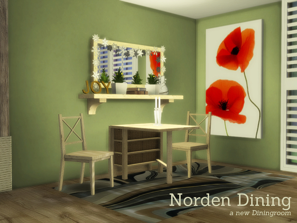 Norden Dining by Angela at TSR image 2636 Sims 4 Updates
