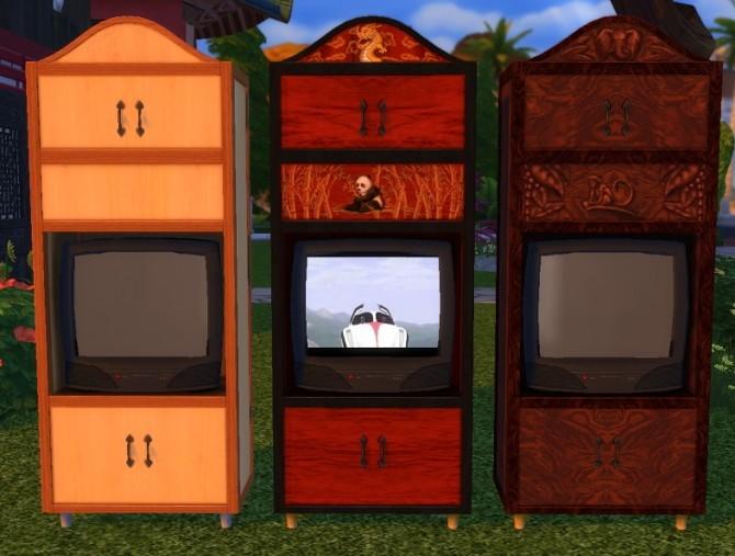 Sims 4 Splendid Sceness Stationary Concierge conversion by BigUglyHag at SimsWorkshop