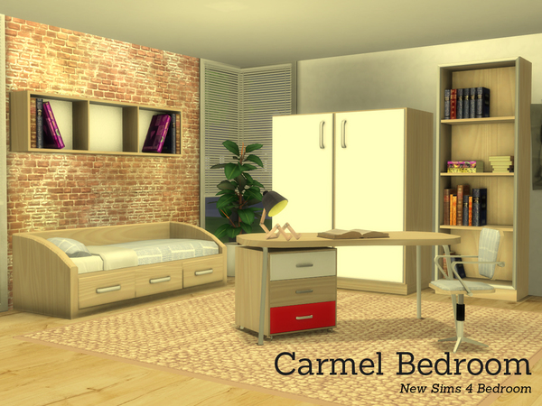Carmel Bedroom by Angela at TSR image 2729 Sims 4 Updates