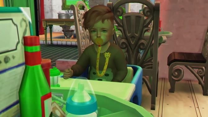 Sims 4 WINGS HAIR OS1210 M TODDLER VERSION at REDHEADSIMS