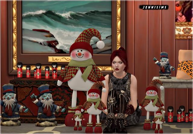 Sims 4 Set Vol 90 Decoratives 5 Items at Jenni Sims