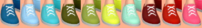 Sims 4 Low Sneakers Conversion at Tukete