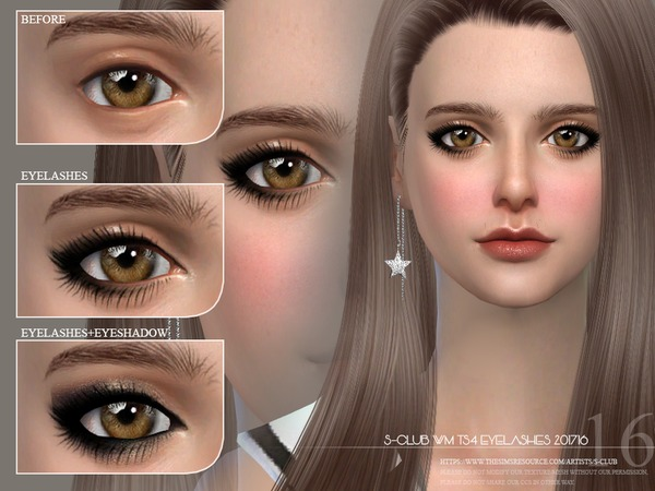 Eyelashes 201716 by S Club WM at TSR image 2813 Sims 4 Updates