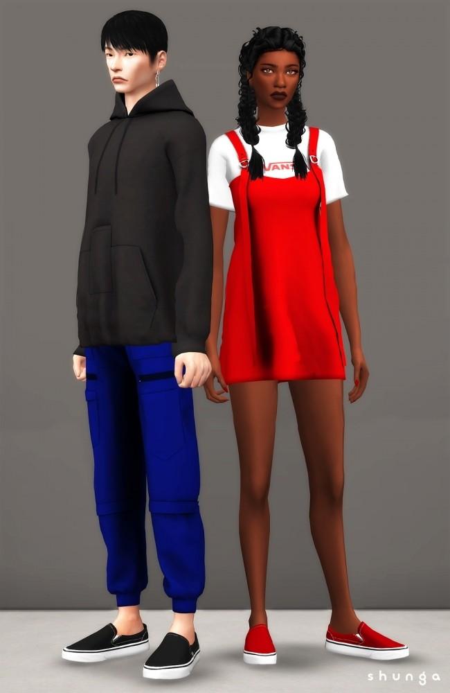 VANS Slip ons at Shunga image 2816 650x1000 Sims 4 Updates