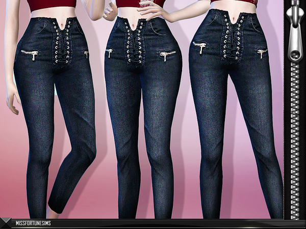 Sims 4 MFS Leanna Jeans by MissFortune at TSR