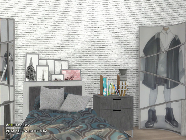 Pina Young Bedroom by ArtVitalex at TSR image 2836 Sims 4 Updates