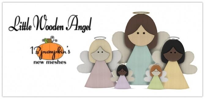 Sims 4 Little Wooden Angel at 13pumpkin31