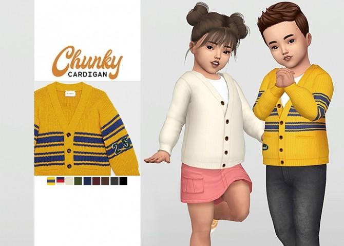 Sims 4 Chunky Cardigan at Waekey