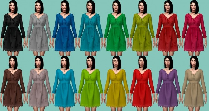 SgiSims Truthteller Dress Conversion at Astya96 image 293 670x356 Sims 4 Updates