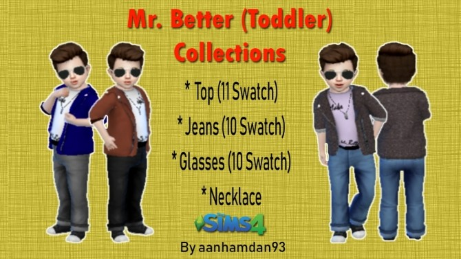 Mr. Better (Toddler) Collections at Aan Hamdan Simmer93 image 2931 670x377 Sims 4 Updates