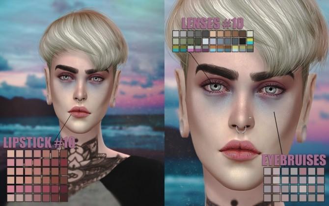 Sims 4 Lipstick and lenses #10 at Magic bot