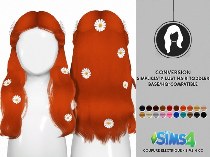 SIMPLICIATY LUST HAIR TODDLER VERSION by Thiago Mitchell at REDHEADSIMS image 2982 670x503 Sims 4 Updates