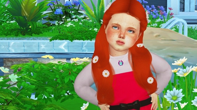 SIMPLICIATY LUST HAIR TODDLER VERSION by Thiago Mitchell at REDHEADSIMS image 3001 670x377 Sims 4 Updates