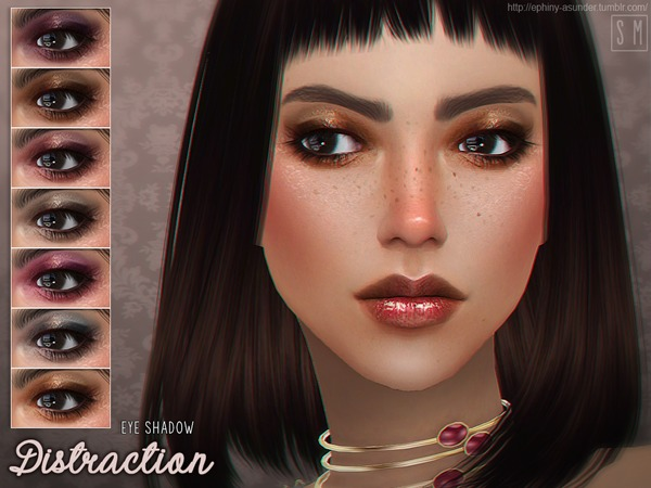 Distraction Eyeshadow by Screaming Mustard at TSR image 3013 Sims 4 Updates