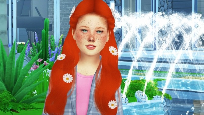 SIMPLICIATY LUST HAIR KIDS VERSION by Thiago Mitchell at REDHEADSIMS image 3042 670x377 Sims 4 Updates