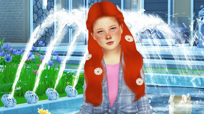 SIMPLICIATY LUST HAIR KIDS VERSION by Thiago Mitchell at REDHEADSIMS image 3052 670x377 Sims 4 Updates