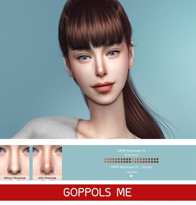 Sims 4 GPME Nosemask V1 at GOPPOLS Me